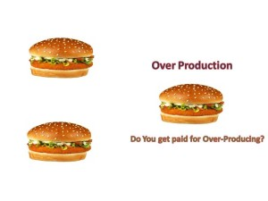 Are You Sure Your Customer is Willing to Pay You for Over-Production?